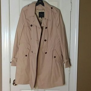 NWT Talbots Classic Trench w/ Zip out liner Sz 16